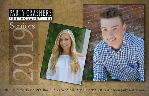 Party Crashers Photography 2018 Seniors Brochure